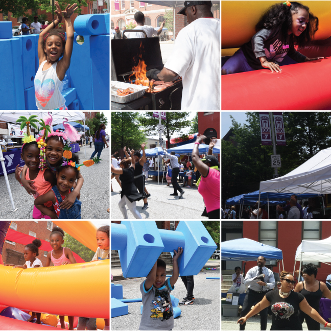 The Y in Druid Hill Block Party